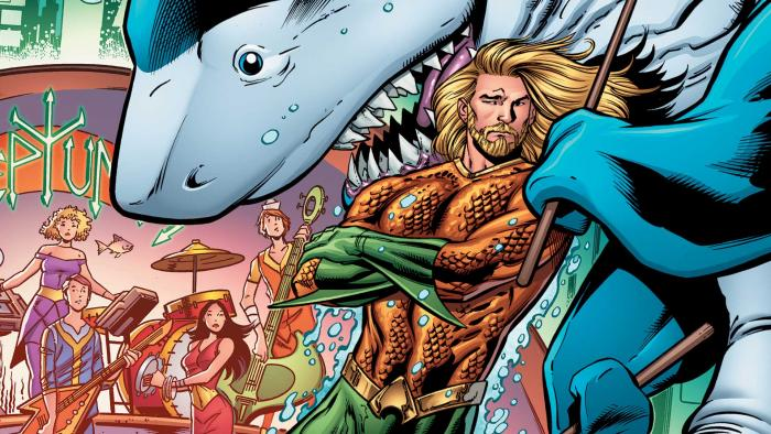 Aquaman and Jabberjaw