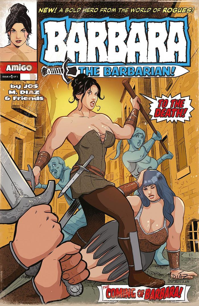 Barbara the Barbarian Issue 1 from Amigo