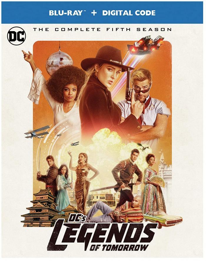 Legends of Tomorrow Season 5 Bluray