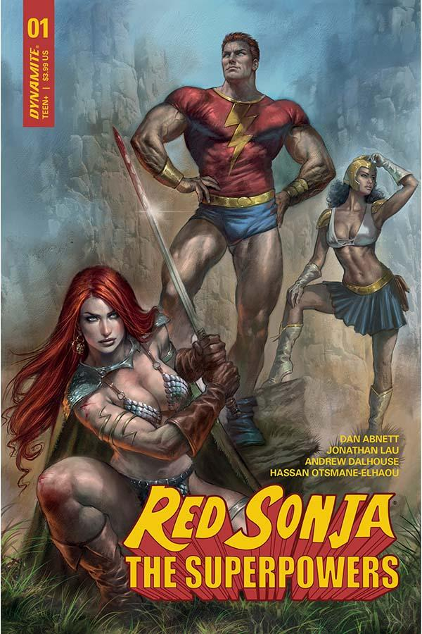 Red Sonja The Superpowers 1