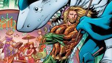 Aquaman and Jabberjaw