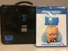 The Boss Baby Lunchbox and Blu-ray