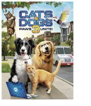 Cats Dogs 3 Paws Unite DVD