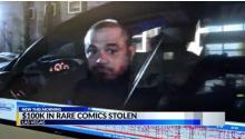 Comic Book Thief